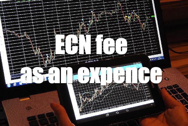 ECNの外だし手数料は確定申告で経費処理できる