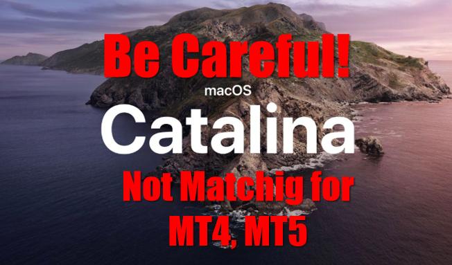 MacでMT4,MT5を稼働させるユーザーは注意